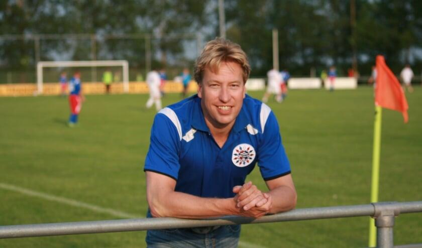<p>Stephen Steijger, voorzitter van Zinkwegse Boys. (foto: pr)</p>