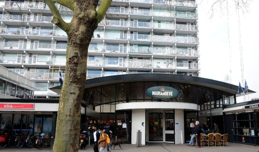<p>Voor de lockdown was Winkelcentrum Mariahoeve aan het Kleine Loos een echte ontmoetingsplek voor ouderen.&nbsp;</p>