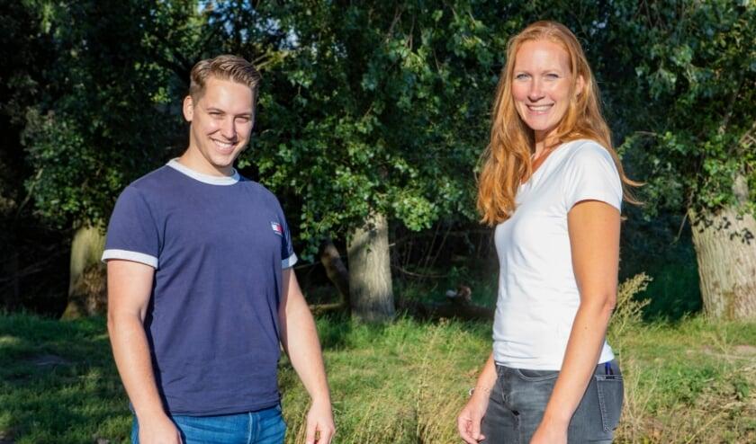 <p>De Westervoortse filmmakers Paul Haans en Sascha Wensveen.</p>