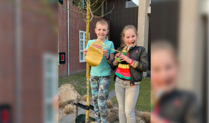 <p>Luuk en Renske Geurden vonden hun tweede ei.</p>