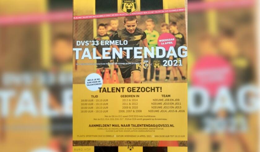 Flyer Talentendag