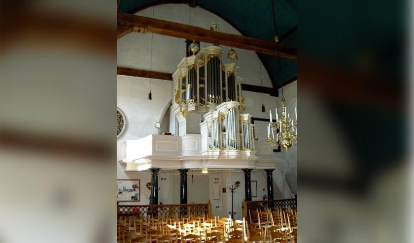 <p>Muziek uit de barok en de 20e eeuw wordt zaterdag door Rien Donkersloot uit het Batz-Van Vulpenorgel tot leven gewekt. (foto: pr Musica Laurentius)</p>
