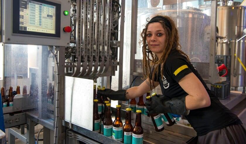 <p>Brouwmeester Sophia Franx van brouwerij Durs heeft een speciaal vrouwenbier ontwikkeld.&nbsp;</p>