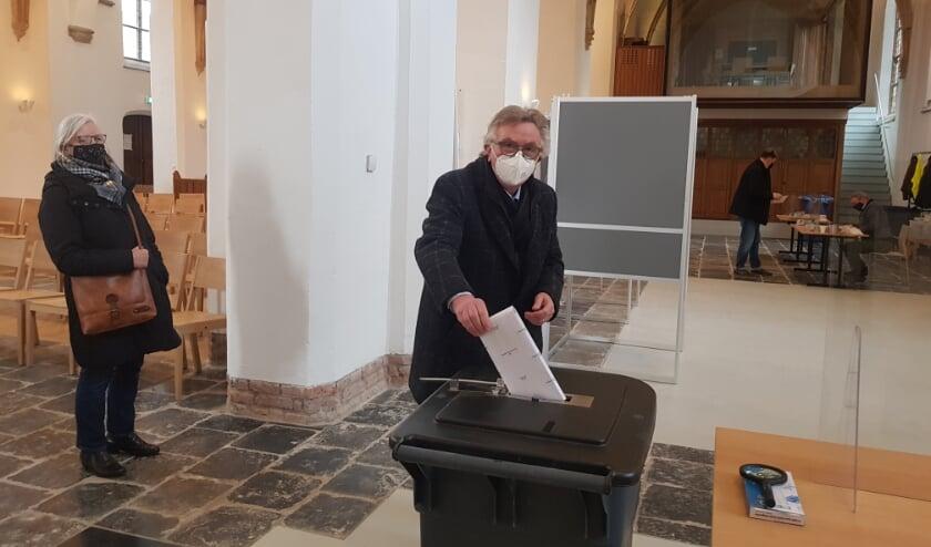 <p>Burgemeester Geert van Rumund: &quot;Elke stem telt&quot;<br><br><br></p>