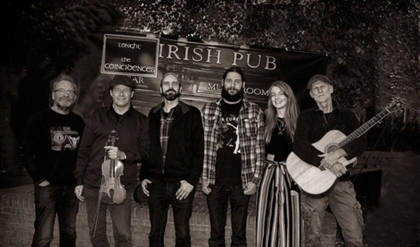 <p>&nbsp;De Bennekomse groep &#39;The Coincidences&#39; livestreamt op 17 maart vanuit de Ierse pub Flannagans, een programma met Keltische muziek.&nbsp;</p>
