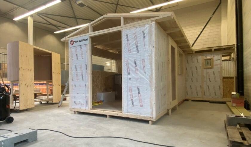 <p>Ruimtematch: EmpowerMij &nbsp;bouwt een tiny house in hal van Bouwbedrijf Van Wijnen.&nbsp;</p>