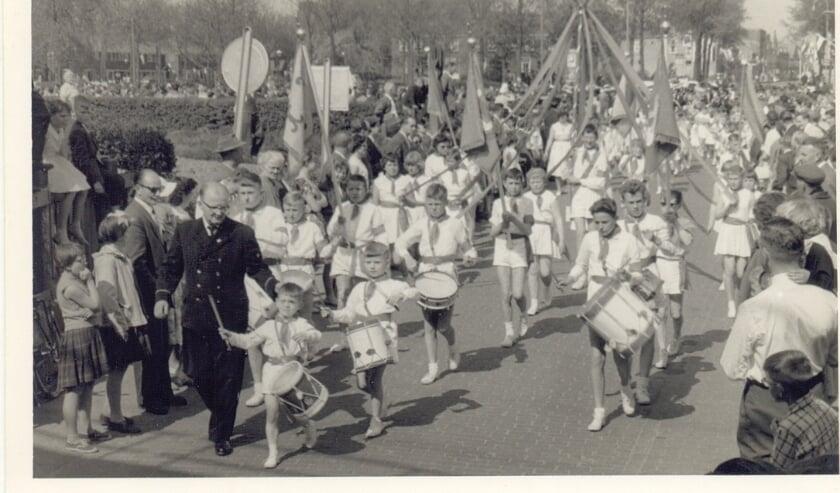 Oranje Garde Koninginnedag 1958