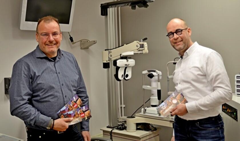 <p>Peter Willems (links) en Peter Toutenhoofd: &quot;We hebben allemaal plezier van een bruisende binnenstad&quot; (foto Jan Boer)</p>