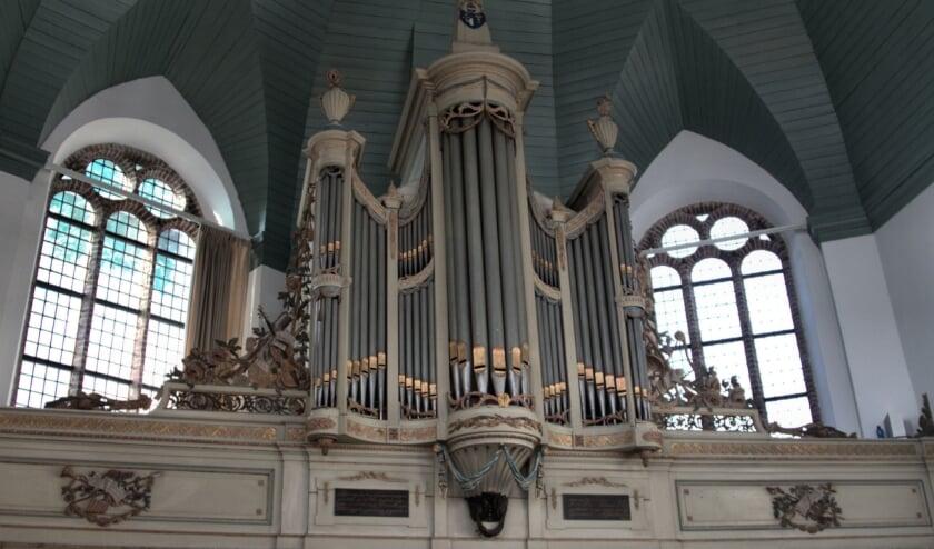 <p>Mitterreither orgel uit 1794. De actie &#39;adopteer een orgelpijp&#39; moet het orgel opfleuren.</p>