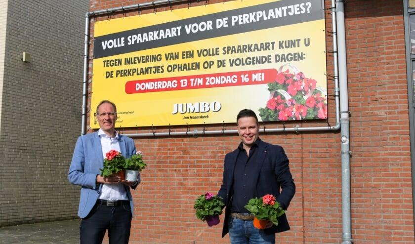 <p>Chris Gradussen (links) en Jan Heemskerk.</p>