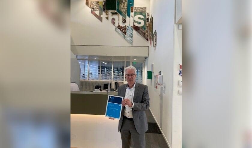 <p>Luc Severijnen, directeur-bestuurder van 'thuis met het certificaat PSO.&nbsp;</p>