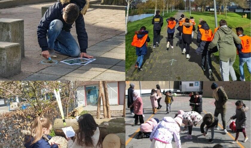 <p>Basisschoolleerlingen doen aan diverse activiteiten van het NME-centrum mee op de Schiedamse Buitenlesdag.</p>