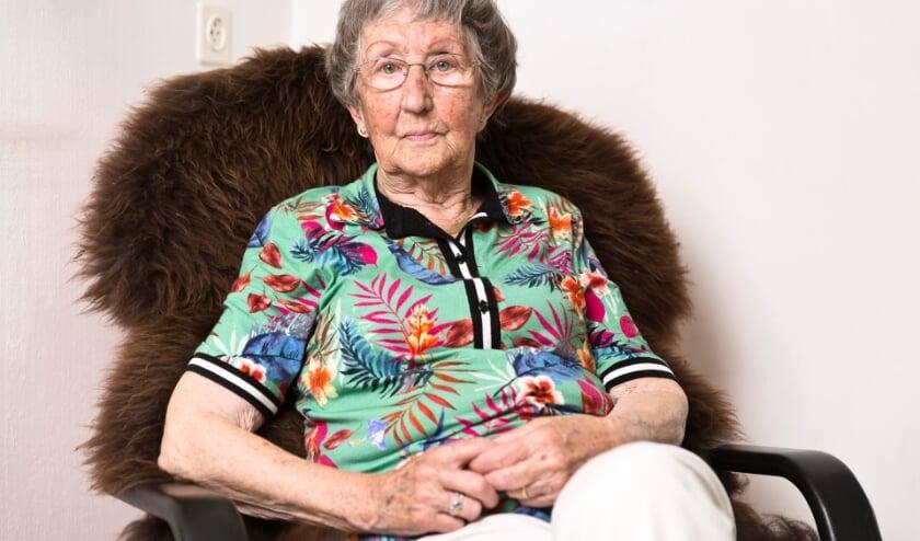 <p>Marie Verbraeken is een oud-gevangene en dinsdag 4 mei te zien in de herdenkingsuitzending van Omroep Brabant. &nbsp;Foto: Ringel Groslinga</p>