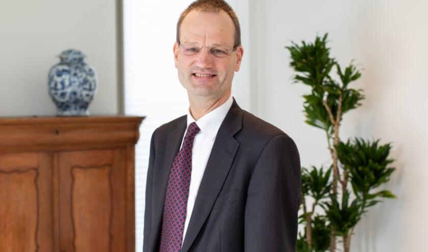 <p>Financieel bestuurder Diederik Zijderveld van het Albert Schweitzer ziekenhuis: &#39;Groot compliment aan alle medewerkers&#39;.</p>