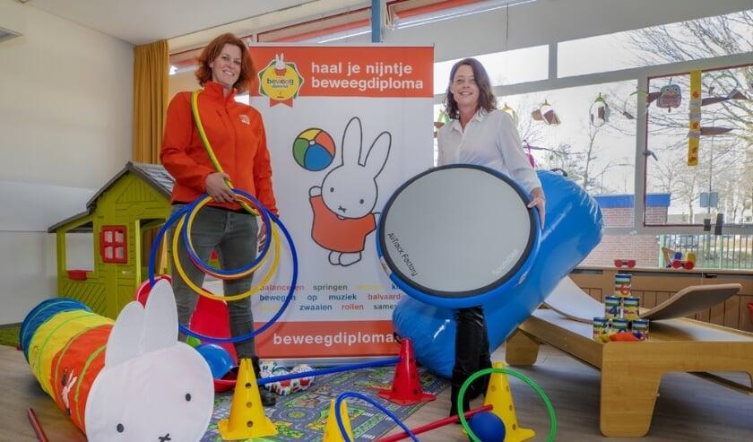 <p>Charissa Hollegien van Doomijne en Tamara Bos van STGPA.</p>