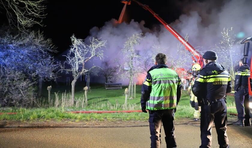 Zeer grote brand in Ommeren