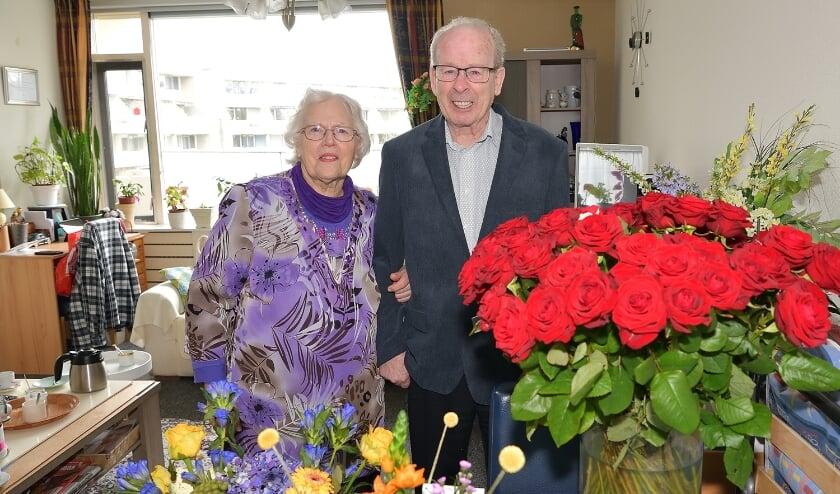 <p>Henk en Kinie Kruithof vierden maandag dat zij elkaar zestig jaar geleden het ja-woord gaven.</p>