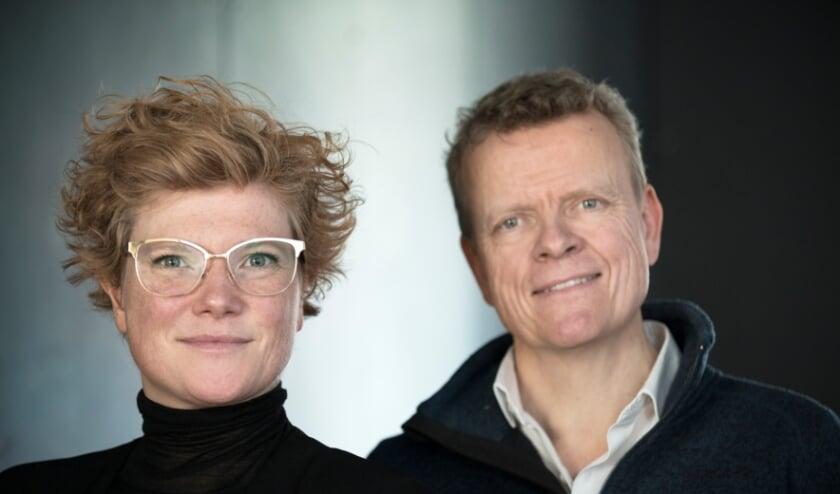 <p>Alexandra Landr&eacute; en Bas Mulder vormen vanaf 1 mei de directie van Stroom Den Haag</p>
