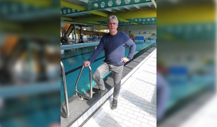 <p>Frans Alebregtse, de nieuwe interim manager voor zwembad &#39;t Centrum.&nbsp;</p>