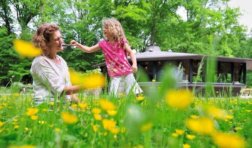 <p>Het Theehuis op Oud Groevenbeek is voor iedereen genieten. (foto: Martin van Lokven)</p>
