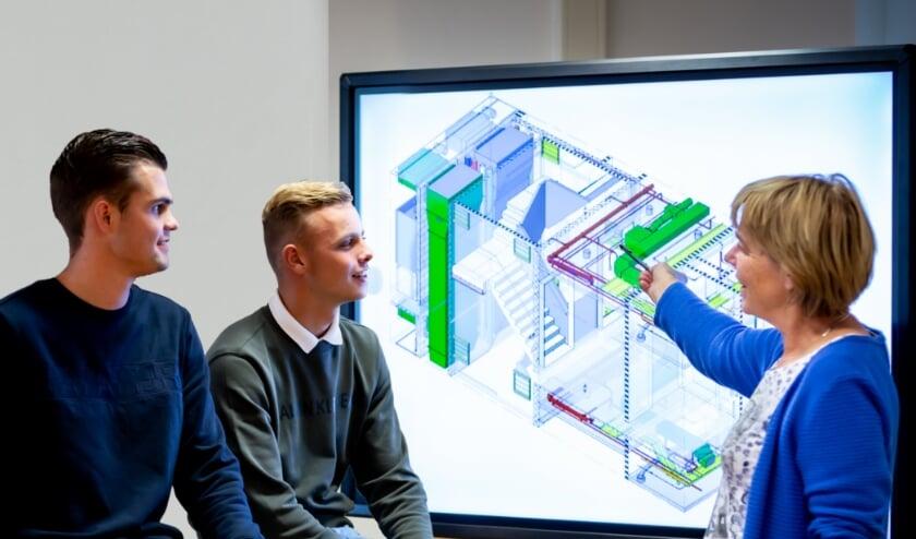 Studenten krijgen uitleg over Smart Building