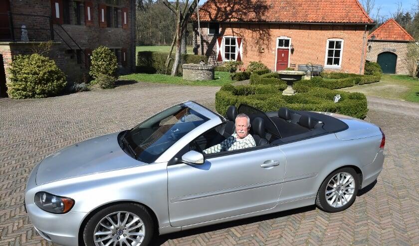 <p>Cabriorijder Siep Engwirda uit Doetinchem.</p>