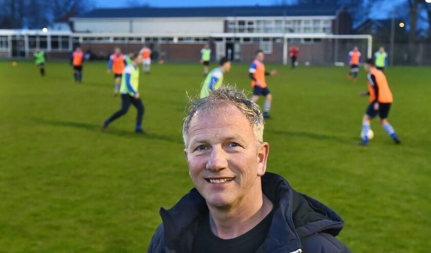 Gregor Gross-Bölting, voorzitter van Sport Vereniging Gedeon Garde uit Megchelen. (foto: Roel Kleinpenning)