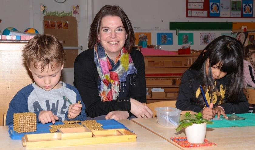 Nieuwe directeur van de Montessorischool in Tiel, Tamara Blijdestein voelde zich gelijk welkom.