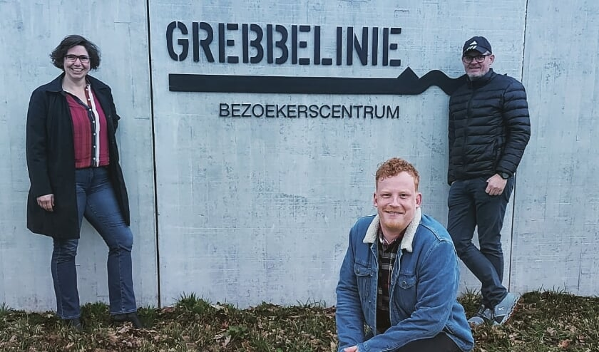 <p>Deze drie Veense sporters gaan de Grebbelinieroute lopen voor het goede doel. (Foto's: PR)</p>