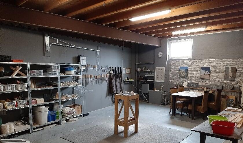 <p>Atelier/workshopruimte</p>