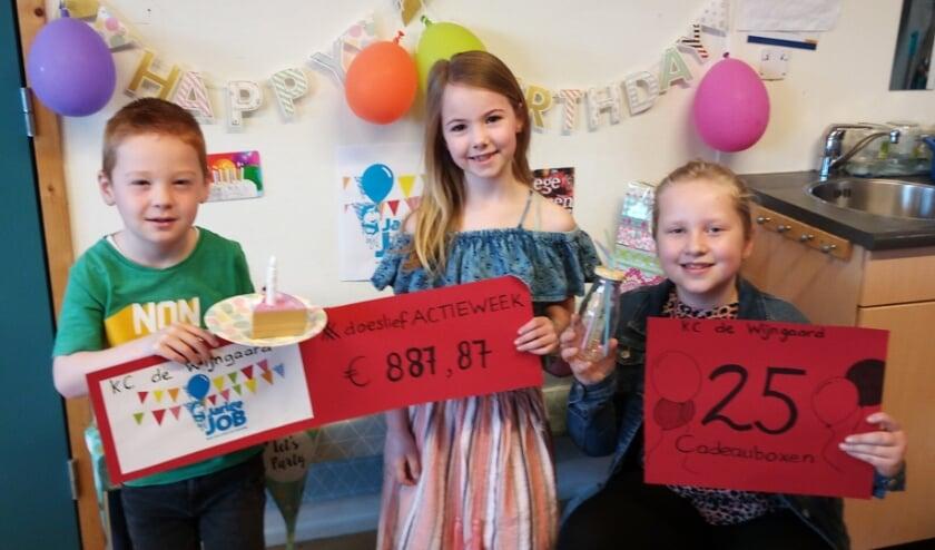 <p>De kinderen van De Wijngaard hebben in hun #doeslief actieweek onder andere geld voor 25 verjaardagsboxen van Jarige Job bijeengebracht.</p>