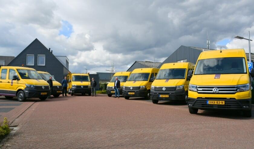 7 nieuwe Volkswagen Bedrijfswagens voor Van Doorn