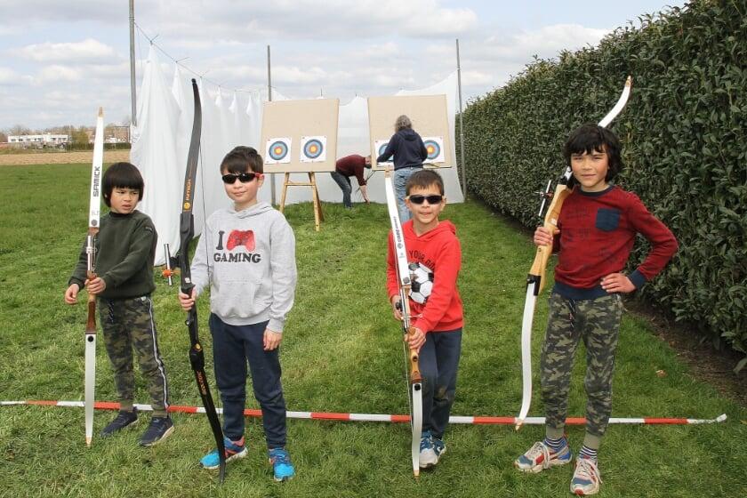 <p>Dankzij een goede uitleg kregen veel kinderen de pijlen een eind in de juiste richting.</p>