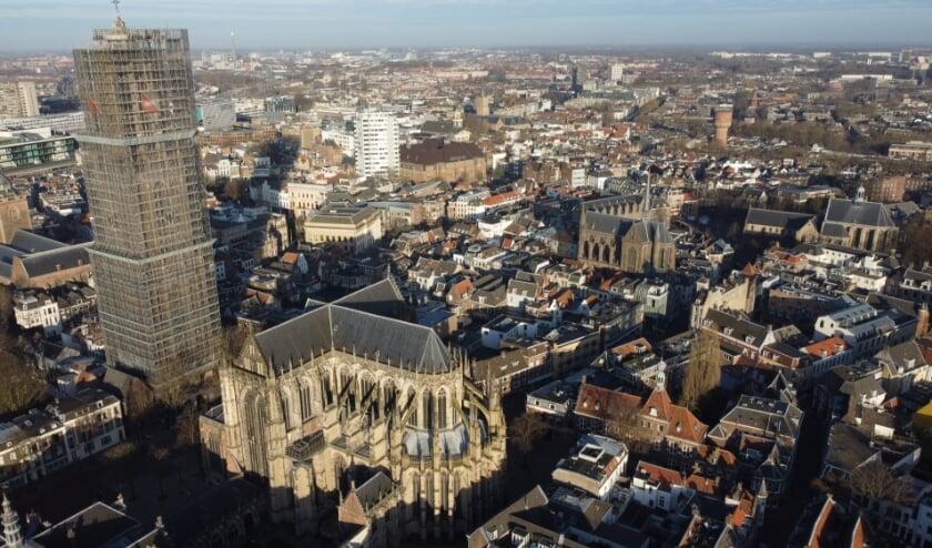 <p>Gemeentelijk archeoloog Herre Wynia legt Utrecht vast vanuit een bijzonder perspectief.&nbsp;</p>