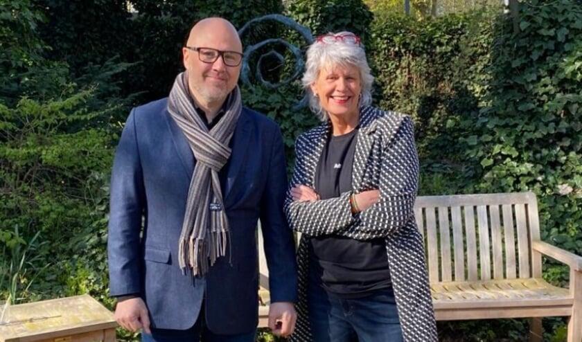 <p>Christian van der Gaag en Helen Teunissen.</p>