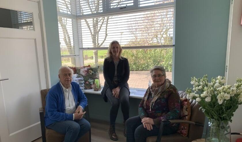 Vrijwilligers van Hospice Oudewater zijn onmisbaar v.l.n.r. Joop van de Kwaak, Mariska Voois en Tony van der Eijk