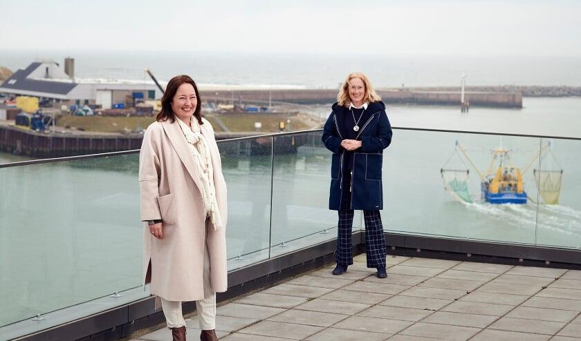 <p><strong>&nbsp;</strong>Wethouder Saskia Bruines en gedeputeerde Adri Bom-Lemstra openden de campus, die op initiatief van gemeente Den Haag en provincie Zuid-Holland tot stand gekomen is.</p>