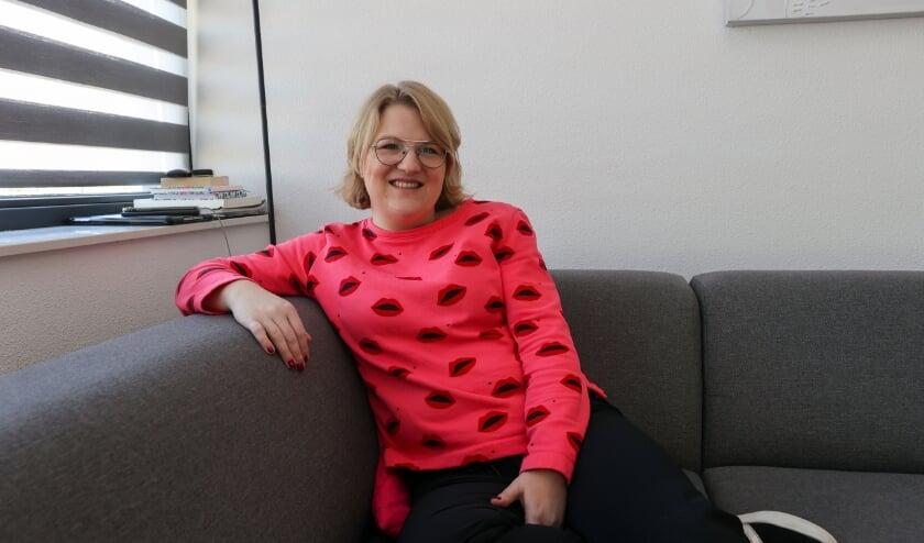<p>Simone Middel: &acute;Spannend hoe mensen gaan reageren&acute;.</p>