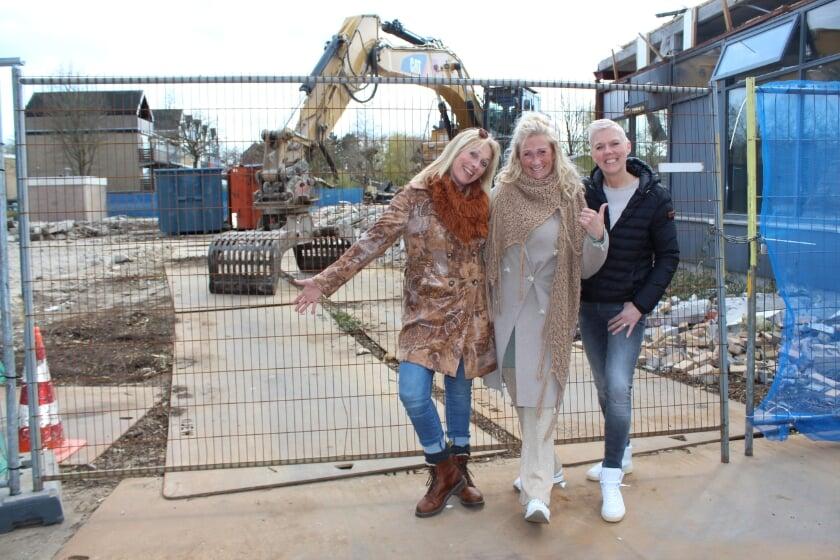 <p>De zusjes Boere, Annemiek, Arjon en Gea (vlnr), maakten vroeger de Don Bosco Mavo in Boskoop onveilig.</p>