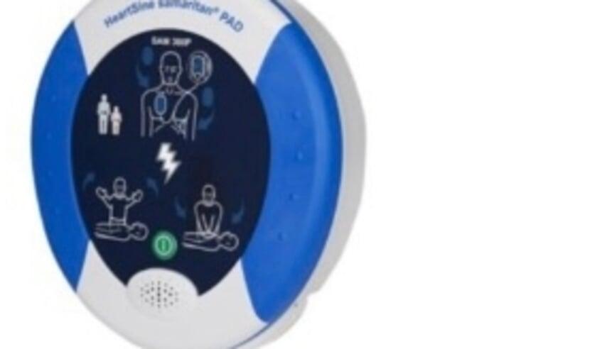 <p>AED op flyer oproep doneeractie AED</p>
