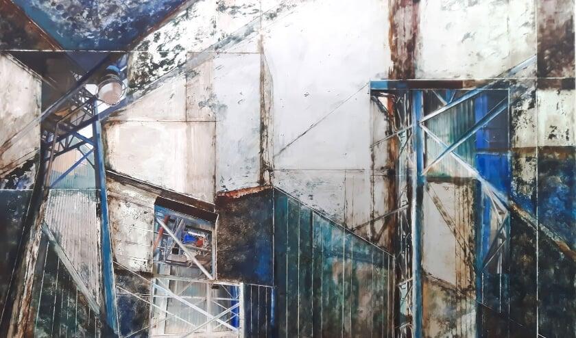 <p>Irma Rengur ziet de industri&euml;le revolutie vastgelegd op zwartgeblakerde fabrieksmuren. (Foto: Irma Rengur)&nbsp;</p>