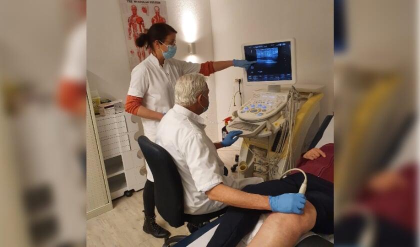 <p>Door middel van echografie is met een uiterste precisie de oorzaak van de pijn te lokaliseren &eacute;n te behandelen.</p>