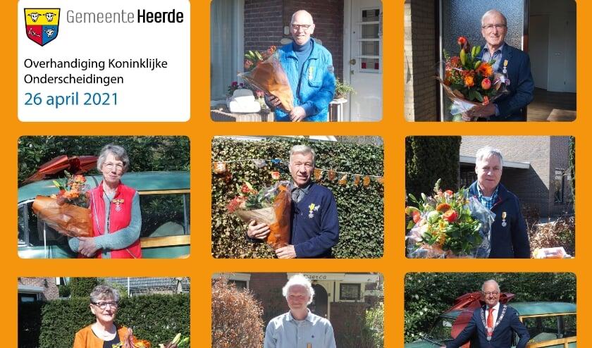 <p>Van boven naar beneden en van links naar rechts: de heer Bijsterbosch, de heer Lokhorst, mevrouw Weishaupt, de heer Stijf, de heer Hanekamp, mevrouw Nijmeijer, de heer Cazemier en burgemeester Wiggers.</p>