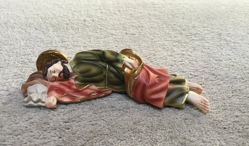 De slapende Sint Jozef