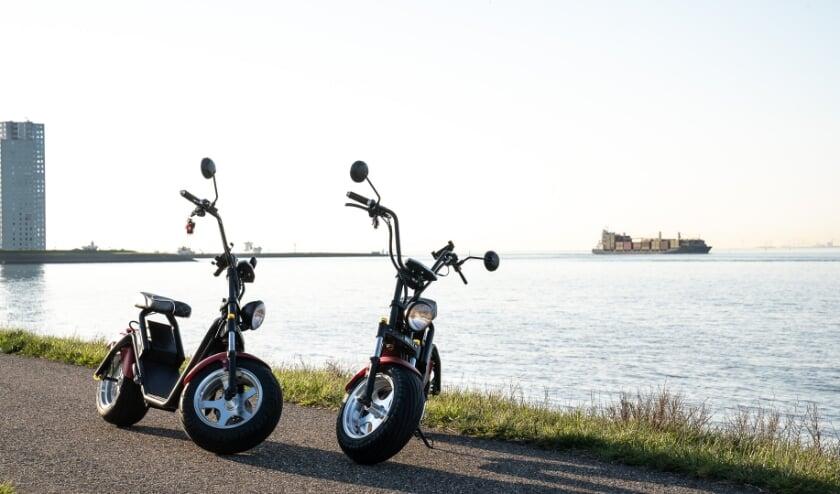 Deze stoere e-choppers van Rent&Joy zijn vanaf nu ook in Terneuzen te huur