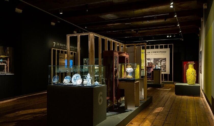 <p>Overzichtsbeeld van de tentoonstelling <em>Jingdezhen. 1000 jaar porselein</em></p>