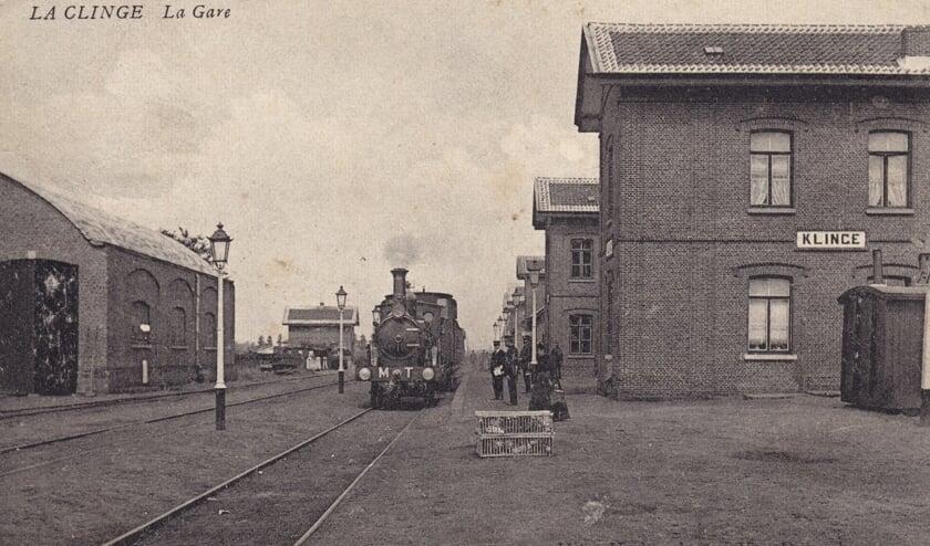 <p>De MT-54 op het station Klinge.&nbsp;</p>
