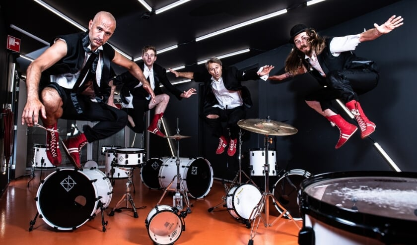 <p>Slagwerkgroep Percossa is een van de artiesten die een gratis muzikaal programma heeft samengesteld voor de Kindermuziekweek.</p>