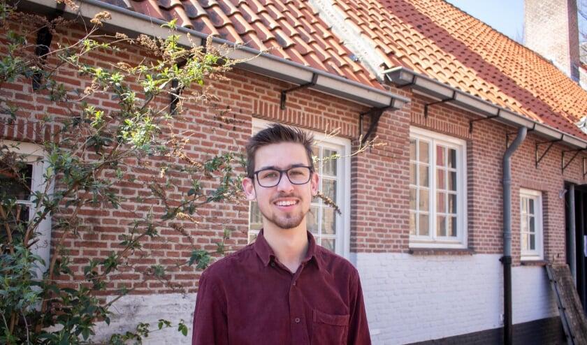 <p>Rick Stoorvogel was 13 jaar toen hij vrijwilliger werd. TEKST EN FOTO: WELZIJN MIDDELBURG</p>