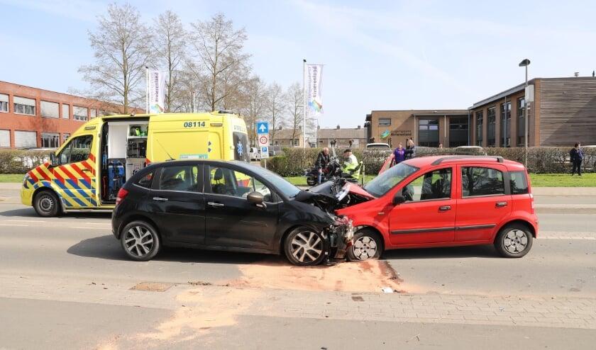 Ongeval op de Teisterbantlaan in Tiel